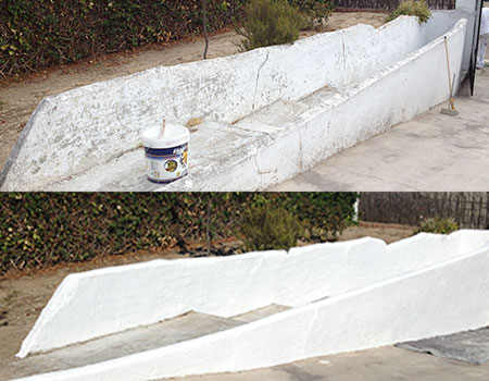 Pintura petrea en Madrid